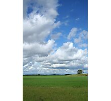 Prairie Clouds Photographic Print