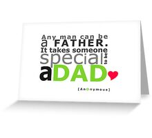 A Dad Greeting Card