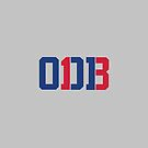 Odell Beckham Jr. | ODB 13 (Red/Blue Colorway) by JoeIbraham