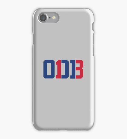 Odell Beckham Jr. | ODB 13 (Red/Blue Colorway) iPhone Case/Skin