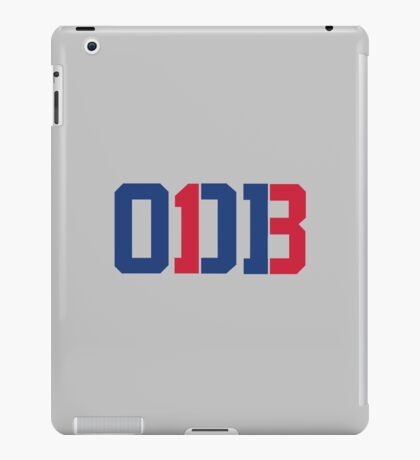 Odell Beckham Jr. | ODB 13 (Red/Blue Colorway) iPad Case/Skin