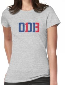 Odell Beckham Jr. | ODB 13 (Red/Blue Colorway) Womens Fitted T-Shirt