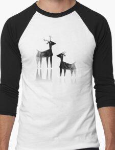 Geometric animals 3 Men's Baseball ¾ T-Shirt