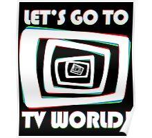 TV World White Poster