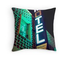 Motel Throw Pillow