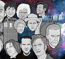 doctor who collage by gjnilespop