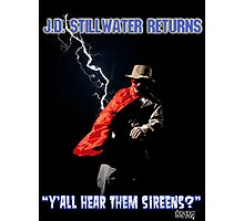 Y'all Hear Them Sireens? Photographic Print