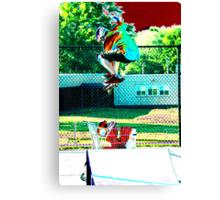 Air Born lll Canvas Print