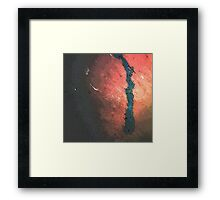 blue blood Framed Print