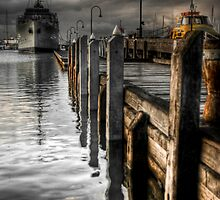 HMAS Castlemaine by Alistair Wilson