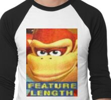 Feature Length Men's Baseball ¾ T-Shirt
