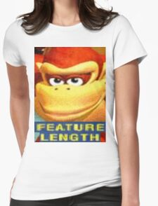 Feature Length Womens Fitted T-Shirt