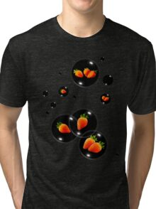 strawberry bubbles Tri-blend T-Shirt