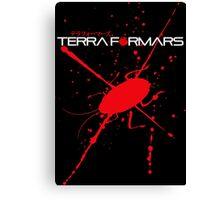Terraformars cockroach Canvas Print