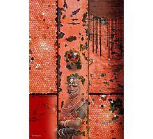 Red Horizion Photographic Print