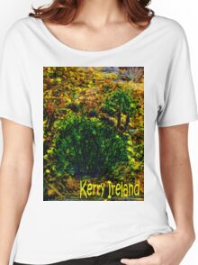 jGibney Ireland 1999 Kerry Lake District Ireland The MUSEUM Red Bubble Gifts Women's Relaxed Fit T-Shirt