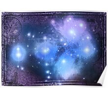 The Pleiades Constellation Poster