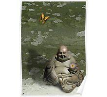 Buddha Buddy Poster