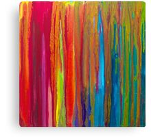 Raw Silk Canvas Print