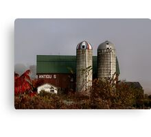 Antique Barn - Cooperstown Canvas Print