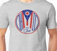 Deco Ohio Seal Unisex T-Shirt