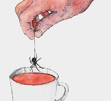 Spider Tea by Alephredo Muñoz
