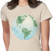 Earth Tree Womens Fitted T-Shirt