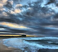 Nobbys at Sunrise by monkeyfoto