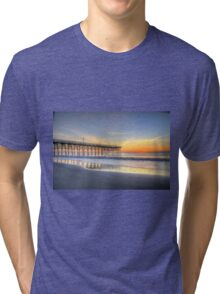 Sunrise at pier 14 new years day 2015_1 Tri-blend T-Shirt