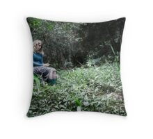 Why so downcast oh my soul? Throw Pillow