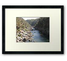 Launceston Gorge Framed Print