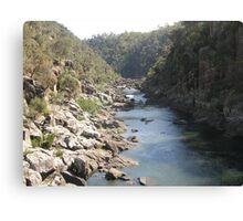 Launceston Gorge Canvas Print