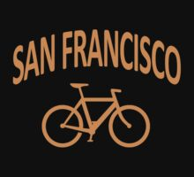 I Bike San Francisco by robotface