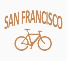 I Bike San Francisco Kids Clothes