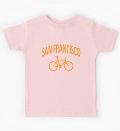 I Bike San Francisco Kids Tee