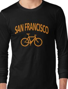 I Bike San Francisco Long Sleeve T-Shirt