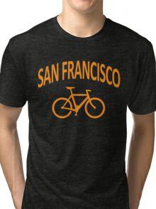 I Bike San Francisco Tri-blend T-Shirt