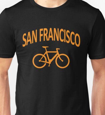 I Bike San Francisco Unisex T-Shirt