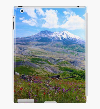 Summer at Mt. St. Helens iPad Case/Skin