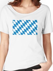 flag of bavaria Women's Relaxed Fit T-Shirt