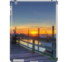 Marina Sunrise_1 iPad Case/Skin