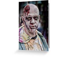 Zombie Walk (1) Greeting Card