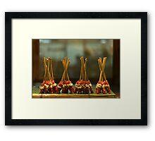 Dancing Satay Framed Print