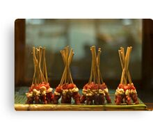 Dancing Satay Canvas Print