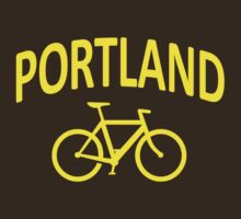 I Bike Portland, Oregon by robotface