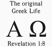 The Original Greek Life One Piece - Short Sleeve