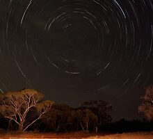 Mallee Star Trails by Jacqueline Stephens