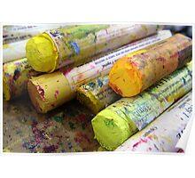 Paint Sticks 'Citrus' Poster
