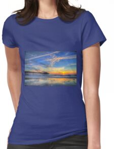 Sunrise in Garden City, SC_1 Womens Fitted T-Shirt