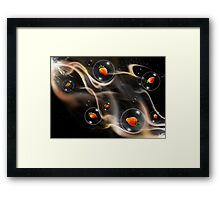 atmospheric journey Framed Print